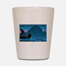 Trekking Shot Glass