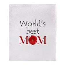 Cute World's best Throw Blanket