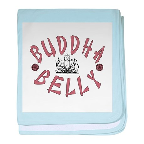 Buddha Belly baby blanket