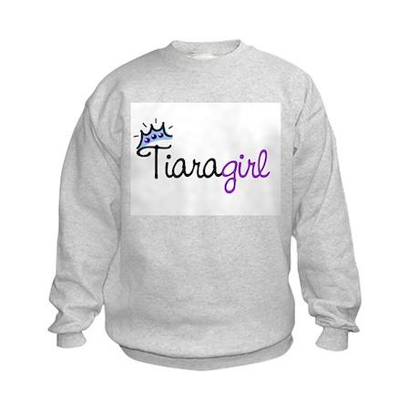 Tiara Girl Kids Sweatshirt