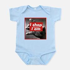 I shop therefore I am Infant Bodysuit