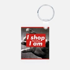 I shop therefore I am Keychains
