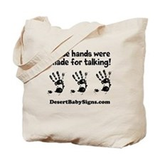 THESE HANDS with Customizable website name Tote Ba