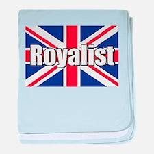 Royalist baby blanket