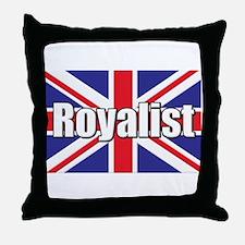 Royalist Throw Pillow
