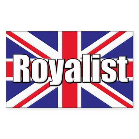 Royalist Sticker (Rectangle)