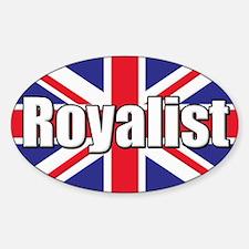 Royalist Sticker (Oval)