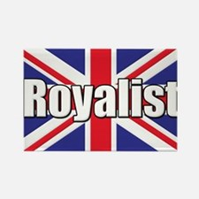 Royalist Rectangle Magnet
