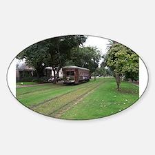 Streetcar 5 Sticker (Oval)