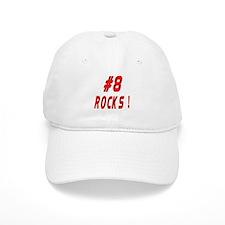 8 Rocks ! Baseball Cap