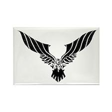 Raven Illustration Rectangle Magnet