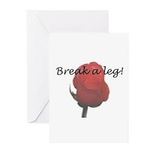 """Break a Leg"" Greeting Cards (Pk of 10)"