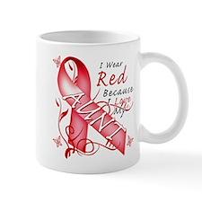 I Wear Red Because I Love My Aunt Mug