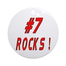 7 Rocks ! Ornament (Round)