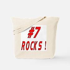 7 Rocks ! Tote Bag