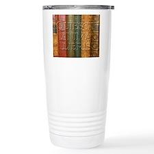 """""""Quiescit Anima Libris"""" Travel Mug"""