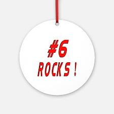 6 Rocks ! Ornament (Round)