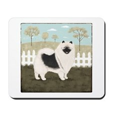 Country Keeshond Mousepad