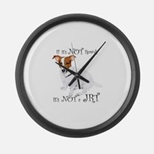 If Its Not Rowdy, Its NOT a JRT Large Wall Clock
