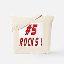 5 Rocks ! Tote Bag