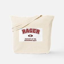 Rager Berserker Dept Tote Bag