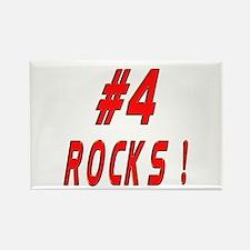 4 Rocks ! Rectangle Magnet