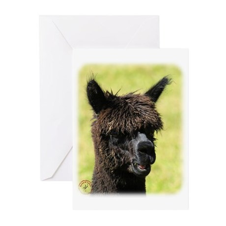Alpaca 9R018D-008 Greeting Cards (Pk of 20)