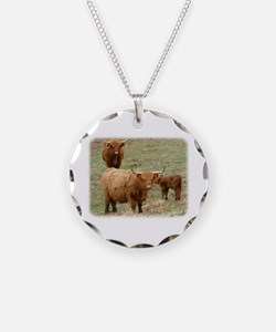 Highland Cattle 9Y316D-017 Necklace