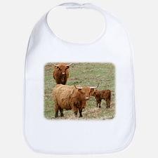 Highland Cattle 9Y316D-017 Bib