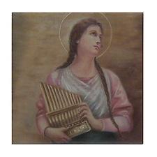 St. Cecilia Tile Coaster