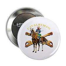 "Cavalryman 2.25"" Button"