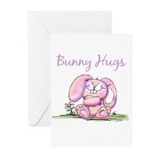 Bunny Hugs Greeting Cards (Pk of 10)