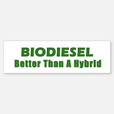 BIODIESEL Better Than A Hybrid