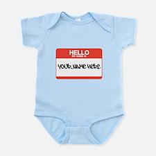 HELLO Infant Bodysuit