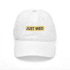 """Royal Wedding """"JUST WED"""" Baseball Cap"""