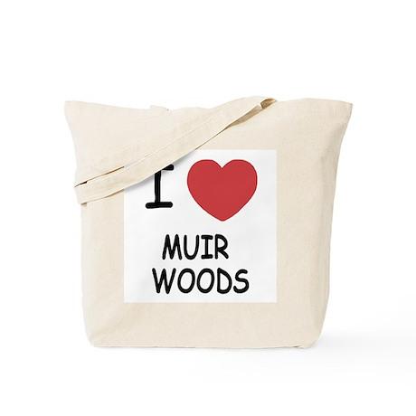 I heart muir woods Tote Bag