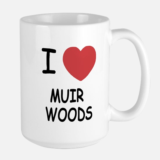 I heart muir woods Large Mug