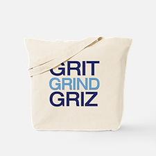 GRIT GRIND GRIZ Tote Bag