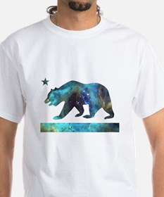 Deep Space California Bear Flag T-Shirt