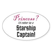 Starship Captain Decal