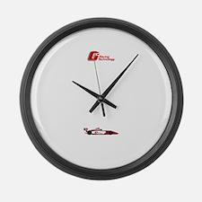 Indycar Large Wall Clock