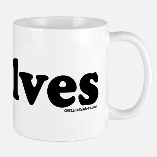 I Love Elves Mug