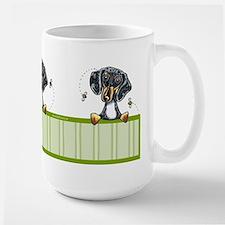 Bee Nice Dapple Dachshund Large Mug