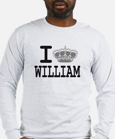 WILLIAM CROWN Long Sleeve T-Shirt