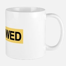 "Royal Wedding ""JUST WED"" Mug"