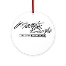 Monte Carlo Ornament (Round)