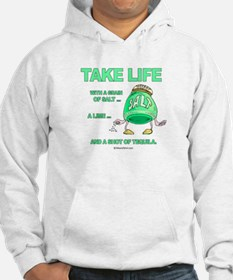 Take life with a grain of salt - Hoodie
