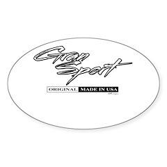 Gran Sport Sticker (Oval 50 pk)