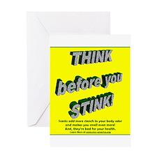 Funny Chemical sensitivity Greeting Card