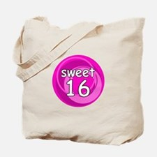 Pink Sweet 16 Tote Bag